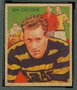 1935 National Chicle #15 Ben Ciccone Pittsburgh Pirates - Front
