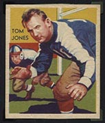 1935 National Chicle #17 Tom Jones New York Giants - Front