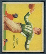 1935 National Chicle #19 Ralph Kercheval Brooklyn Dodgers - Front