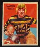 1935 National Chicle #20 Warren Heller Pittsburgh Pirates - Front