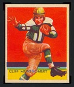 1935 National Chicle #21 Cliff Montgomery Brooklyn Dodgers - Front