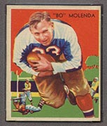 1935 National Chicle #2 Bo Molenda New York Giants - Front