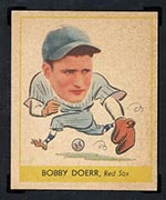 1938 Goudey #258 Bobby Doerr Boston Red Sox - Front