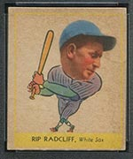"1938 Goudey #261 ""Rip"" Radcliff Chicago White Sox - Front"