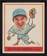 "1938 Goudey #262 Joe ""Ducky"" Medwick St. Louis Cardinals - Front"