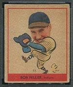 1938 Goudey #264 Bob Feller Cleveland Indians - Front