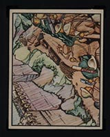 1938 Gum Inc Horrors of War #13 Trapping the Japanese at Nankow Pass - Front