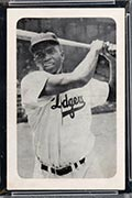 1947 Bond Bread Jackie Robinson Batting, No Sleeves