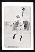 1947 Bond Bread Jackie Robinson Fielding, Ball in Glove