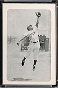 1947 Bond Bread Jackie Robinson Leap, Scoreboard in Back