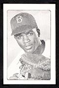 1947 Bond Bread Jackie Robinson Portrait, Facsimile Autograph