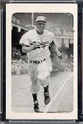 1947 Bond Bread Jackie Robinson Running Down Baseline