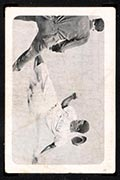 1947 Bond Bread Jackie Robinson Sliding