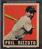 1948-1949 Leaf #11 Phil Rizzuto New York Yankees - Front