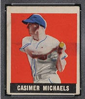 1948-1949 Leaf #13 Casimer Michaels Chicago White Sox - Front