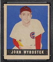 1948-1949 Leaf #19 John Wyrostek Cincinnati Reds - Front