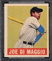1948-1949 Leaf #1 Joe DiMaggio New York Yankees - Front