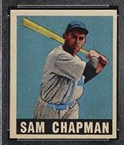 1948-1949 Leaf #26 Sam Chapman Philadelphia Athletics - Front
