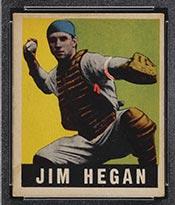 1948-1949 Leaf #28 Jim Hegan Cleveland Indians - Front