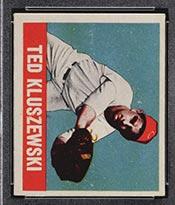 1948-1949 Leaf #38 Ted Kluszewski Cincinnati Reds - Front