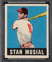 1948-1949 Leaf #4 Stan Musial St. Louis Cardinals - Front