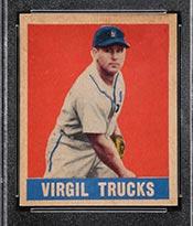 1948-1949 Leaf #5 Virgil Trucks Detroit Tigers - Front
