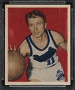 1948 Bowman #10 Bob Davies Rochester Royals - Front
