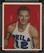 1948 Bowman #14 Howard Dallmar Philadelphia Warriors - Front