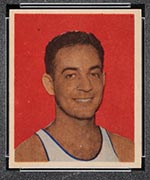 1948 Bowman #16 Sid Hertzberg Washington Capitols - Front