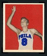 1948 Bowman #25 George Senesky Philadelphia Warriors - Front