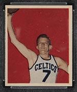1948 Bowman #8 Mel Riebe Boston Celtics - Front