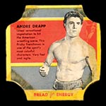 1950-1951 D290-12 Bread for Energy Andre Drapp Professional Wrestler