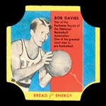 1950-1951 D290-12 Bread for Energy Bob Davies Rochester Royals