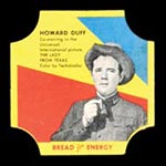 1950-1951 D290-12 Bread for Energy Howard Duff Actor, The Lady from Texas