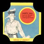 1950-1951 D290-12 Bread for Energy Huntz Hall Actor, Let's Go Navy!