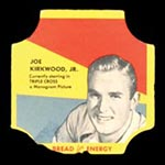 1950-1951 D290-12 Bread for Energy Joe Kirkwood, Jr. Actor, Triple Cross