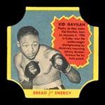 1950-1951 D290-12 Bread for Energy Kid Gavilan Welterweight Boxer