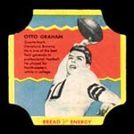 1950-1951 D290-12 Bread for Energy Otto Graham Cleveland Browns