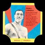 1950-1951 D290-12 Bread for Energy Primo Carnera Heavyweight Boxer