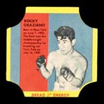 1950-1951 D290-12 Bread for Energy Rocky Graziano Middleweight Boxer