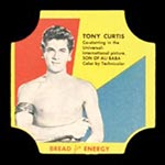 1950-1951 D290-12 Bread for Energy Tony Curtis Actor, Son of Ali Baba