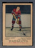 1951-1952 Parkhurst #10 Doug Harvey Montreal Canadiens