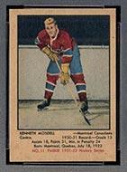 1951-1952 Parkhurst #11 Ken Mosdell Montreal Canadiens