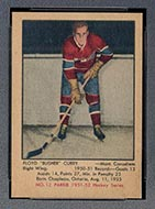 1951-1952 Parkhurst #12 Floyd Curry Montreal Canadiens