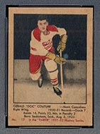1951-1952 Parkhurst #17 Gerry Couture Montreal Canadiens