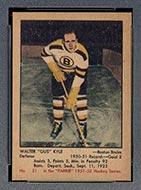 """1951-1952 Parkhurst #21 Walter """"Gus"""" Kyle Boston Bruins"""