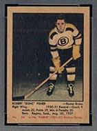 1951-1952 Parkhurst #24 Dunc Fisher Boston Bruins