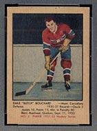 1951-1952 Parkhurst #3 Butch Bouchard Montreal Canadiens