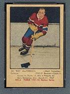 1951-1952 Parkhurst #6 Bud MacPherson Montreal Canadiens