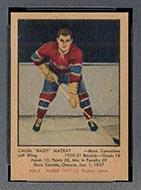 1951-1952 Parkhurst #9 Calum Mackay Montreal Canadiens